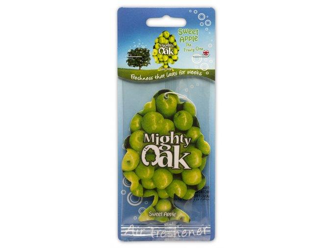 Osvěžovač vzduchu Mighty Oak 2D Air Freshener SWEET APPLE, 1 ks