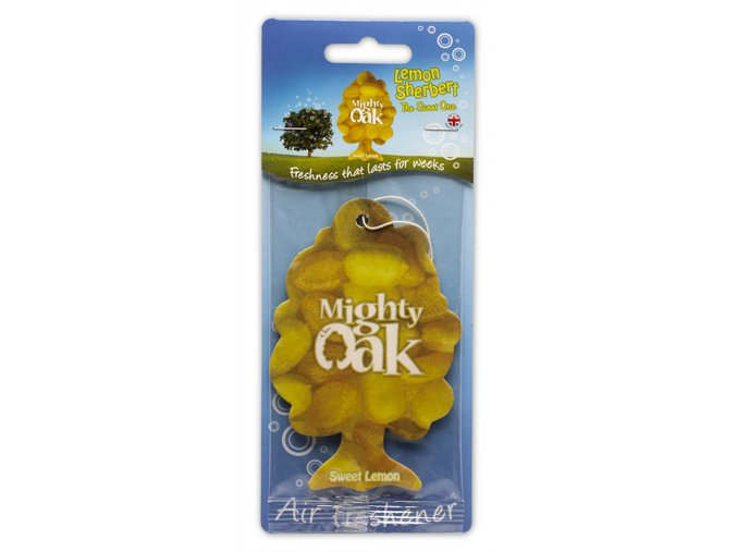 Osvěžovač vzduchu Mighty Oak 2D Air Freshener Lemon Sherbet, 1 ks