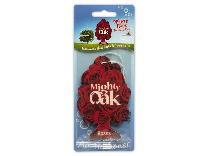 Osvěžovač vzduchu Mighty Oak 2D Air Freshener Modern Rose, 1 ks