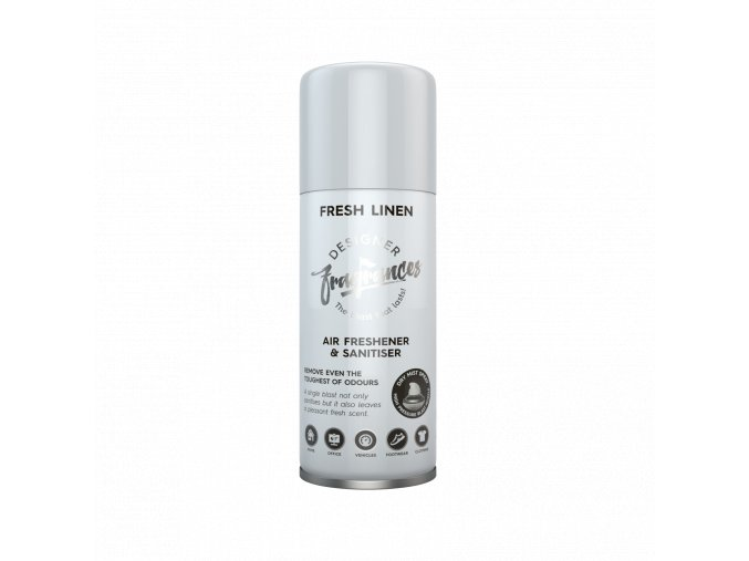 Osvěžovač vzduchu a eliminátor zápachu Designer Fragrances Fresh Linen, 400 ml