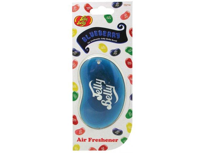 Vůně do auta Jelly Belly 3D Air Freshener Blueberry Borůvky, 1 ks
