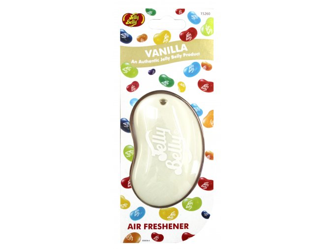 Vůně do auta Jelly Belly 3D Air Freshener Vanilla Vanilka, 1 ks