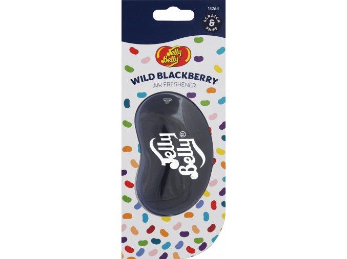 Vůně do auta Jelly Belly 3D Air Freshener Wild Blackberry Ostružiny, 1 ks
