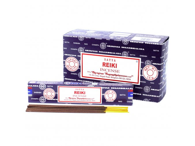 Vonné tyčinky Shrinivas Satya Reiki, 15 g
