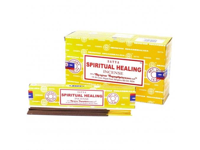 Vonné tyčinky Shrinivas Satya Spirituální Léčba, 15 g