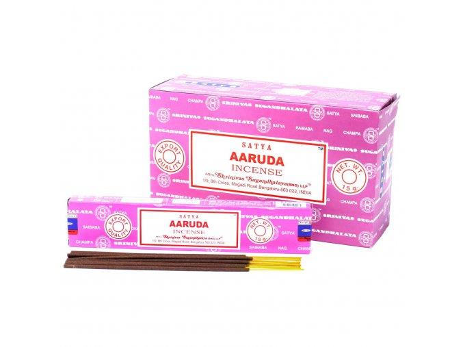 Vonné tyčinky Shrinivas Satya Aaruda, 15 g