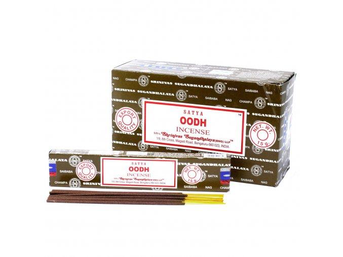 Vonné tyčinky Shrinivas Satya Oodh, 15 g
