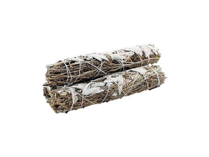 Šalvěj bílá & Levandule svazek pro vykuřování, 22,5 cm, 1 ks