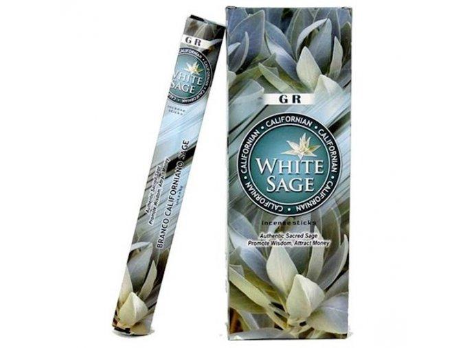 Vonné tyčinky White Sage Bílá šalvěj, box 6 balení x 20 g