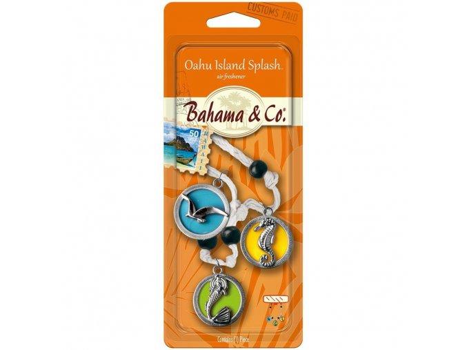BAHAMA & CO vůně do auta 3D Necklace Island Medallion, 1 ks