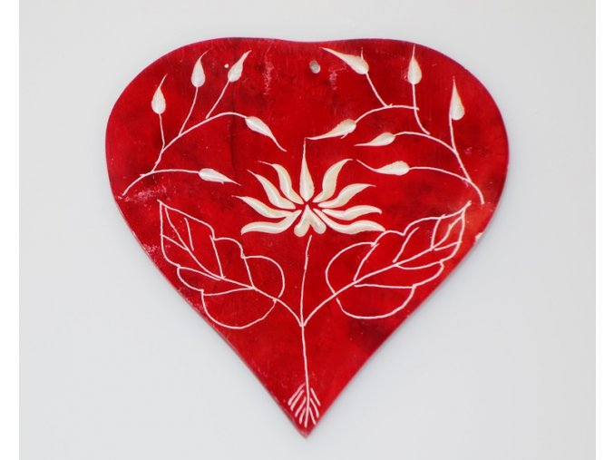 Stojánek na vonné tyčinky Srdce s lotosem mastek