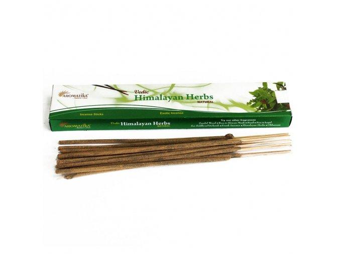 Aromatika Vedic Vonné tyčinky Himalájské byliny, 15 g