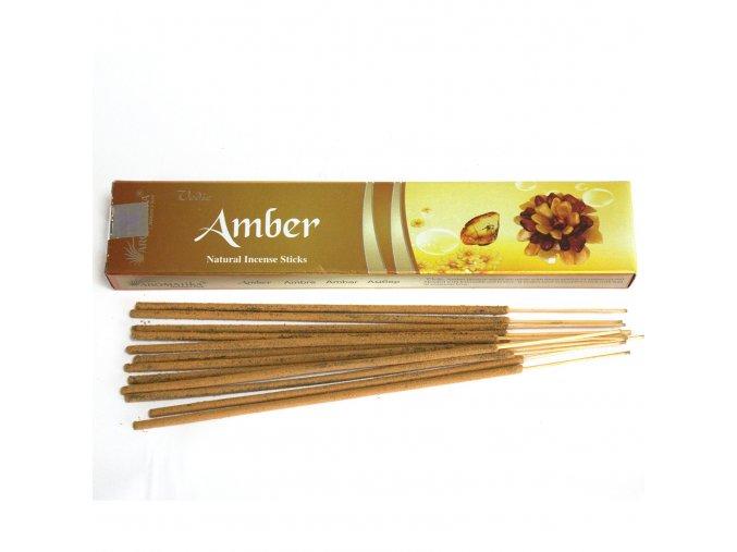 Aromatika Vedic Vonné tyčinky Jantar, 15 g
