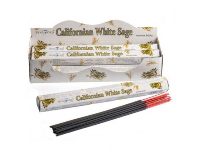 Stamford Vonné tyčinky Californian White Sage, 20 ks