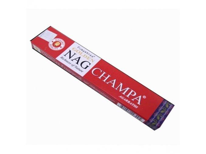 Vijayshree Vonné Tyčinky Golden Nag Champa, 15 g