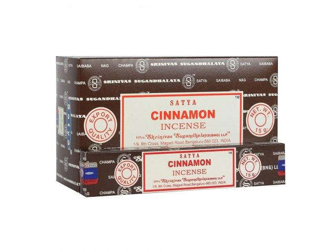 Shrinivas Satya Vonné tyčinky Cinnamon, 15 g