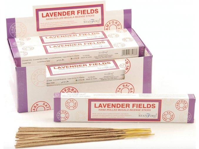 Stamford Masala Lavender Field Vonné tyčinky, 15 ks