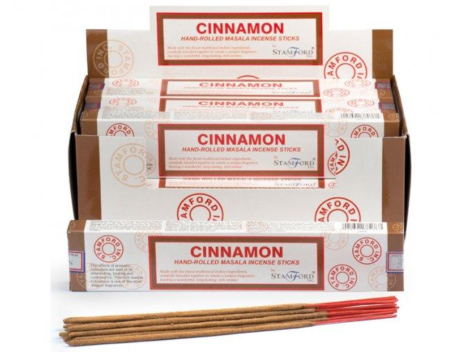 Stamford Masala Cinnamon Vonné tyčinky, 15 ks