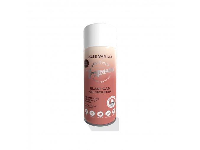 Designer Fragrances Osvěžovač vzduchu a eliminátor zápachu Rose Vanille, 400 ml