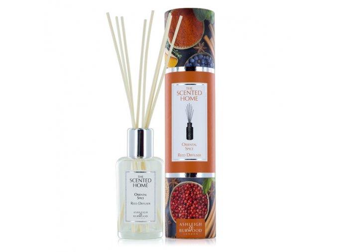 Aroma difuzér THE SCENTED HOME ORIENTAL SPICE (orientální koření) 150 ml