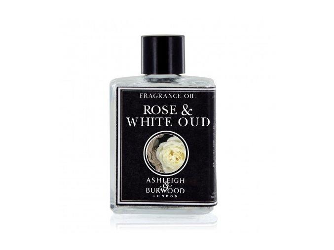 Vonný esenciální olej ROSE & WHITE OUD, 12 ml