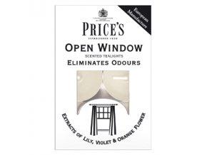 Svíčka čajová - Open window 6ks, 18g