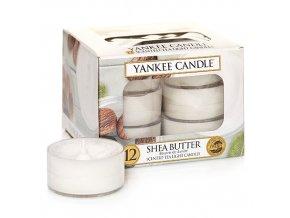 Čajová svíčka Yankee Candle SHEA BUTTER