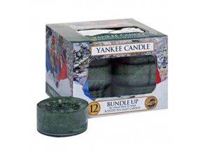 Čajová svíčka Yankee Candle Bundle Up