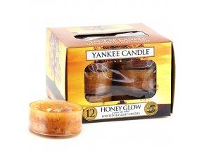 Čajová svíčka Yankee Candle Honey Glow