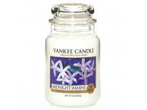 Yankee Candle Vonná svíčka Půlnoční jasmín - Midnight Jasmine, 623 g