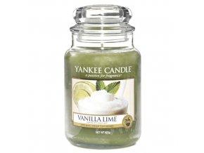 Vonná svíčka ve skleněné dóze Vanilka s limetkami - Vanilla Lime, 623 g