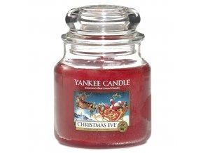 Vonná svíčka ve skleněné dóze Štědrý večer - Christmas Eve, 411 g