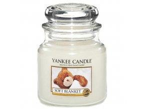 Vonná svíčka ve skleněné dóze Jemná přikrývka - Soft Blanket, 411 g