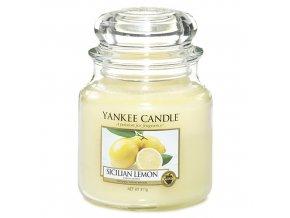 Vonná svíčka ve skleněné dóze Sicilský citrón - Sicilian Lemon, 411 g