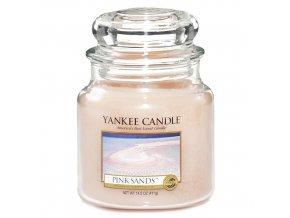 Vonná svíčka ve skleněné dóze Růžové písky - Pink Sands, 411 g