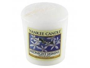Votivní svíčka Yankee Candle Půlnoční jasmín, 49 g