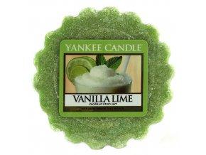 Yankee Candle Vonný vosk Vanilka s limetkami (Vanilla Lime), 22 g