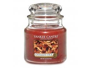 Vonná svíčka ve skleněné dóze Skořicová tyčinka - Cinnamon Stick, 411 g