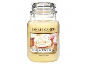 Vonná svíčka ve skleněné dóze Vanilkový košíček - Vanilla Cupcake, 623 g