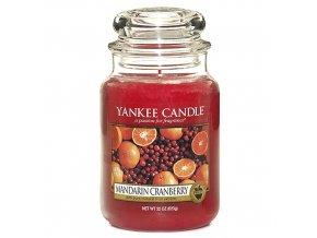 Vonná svíčka ve skleněné dóze Mandarinky s brusinkami - Mandarin Cranberry, 623 g