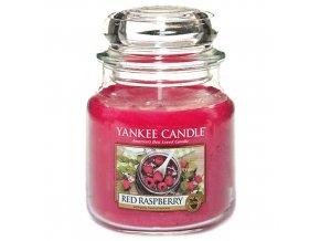Vonná svíčka ve skleněné dóze Červená malina - Red Raspberry, 411 g
