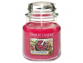 Yankee Candle Vonná svíčka Červená malina (Red Raspberry), 411 g