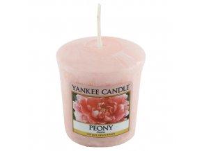 Votivní svíčka Yankee Candle Pivoňka, 49 g
