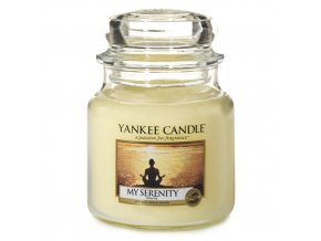 Vonná svíčka ve skleněné dóze Můj vnitřní klid - My Serenity, 411 g