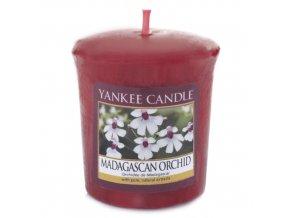 Votivní svíčka Yankee Candle Orchidej z Madagaskaru, 49 g