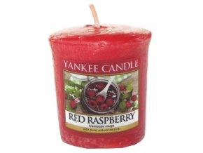 Votivní svíčka Yankee Candle Červená malina, 49 g