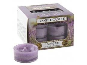 Čajová svíčka Levandule - Lavender, 12 ks
