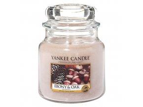Vonná svíčka ve skleněné dóze Eben a dub - Ebony & Oak, 411 g