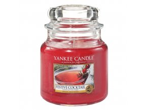 Vonná svíčka ve skleněné dóze Sváteční koktejl - Festive Coctail, 411 g