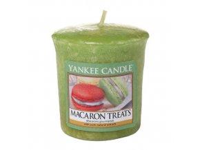 Votivní svíčka Yankee Candle Makronky, 49 g